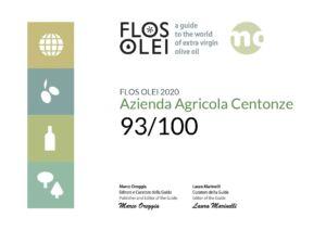 Olio Centonze Siciliano Biologico Extravergine di Oliva Nocellara del Belice DOP IGP